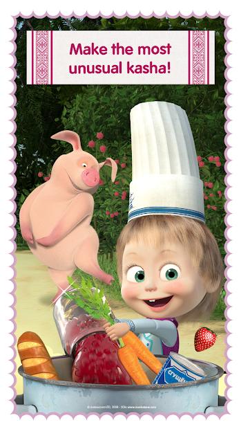 Masha and Bear: Cooking Dash screenshot 5