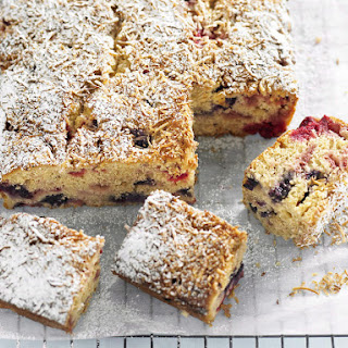 Berry and Coconut Bars