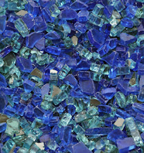 "Photo: 1/4"" Oceana colorFUSION FireGlass - http://www.blazingglass.com/premixed-fireplace-glass/quarter-inch-oceana-colorfusion.php"
