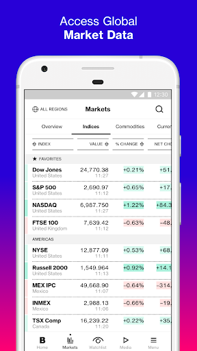 Bloomberg: Market & Financial News screenshot 2