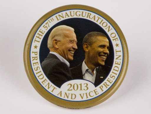 57th Presidential Inauguration Button, 2013