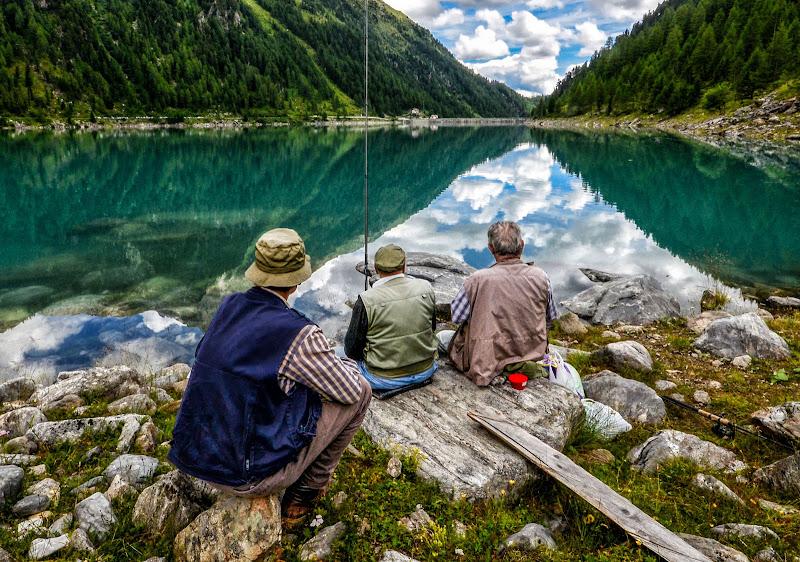 Pescare in santa pace di Diana Cimino Cocco