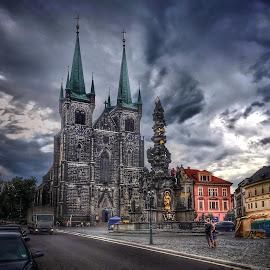 by Johana Starova - City,  Street & Park  Vistas