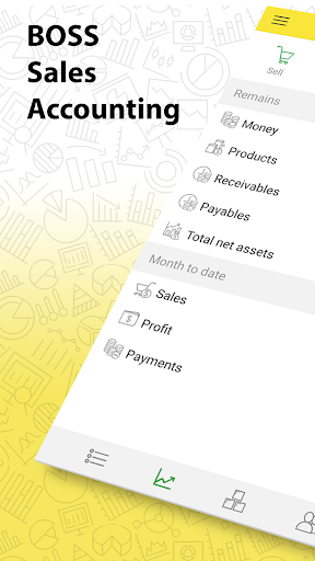 Bookkeeping & Inventory Management. Sales tracker  screenshots 1