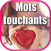 mots touchants le coeur Icon