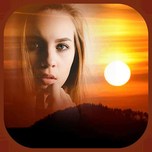 Sunset Frames: Photo Editor & Wallpaper Maker Icon
