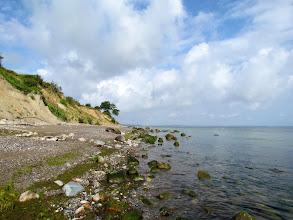 Photo: Das Brodtener Ufer im Sommer