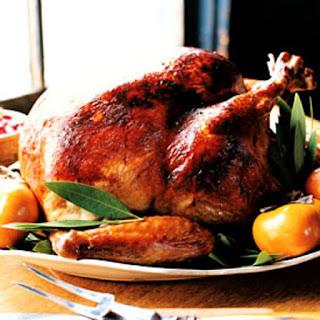Miso-Rubbed Turkey with Turkey Gravy