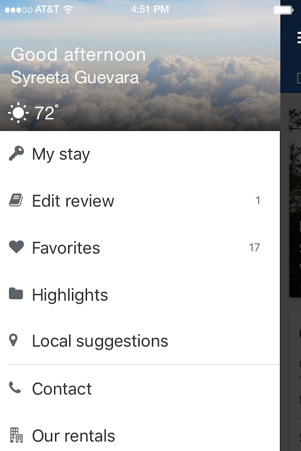 Bluewater Vacation Rentals- screenshot