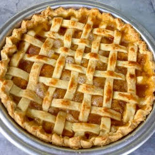 Ani's Real Peach Pie.