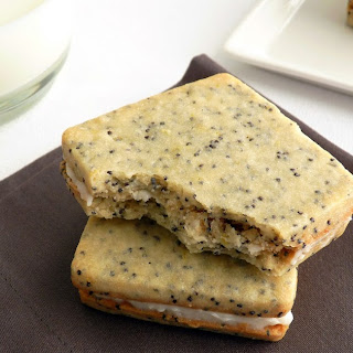 Poppy Seed Sandwich Cookies