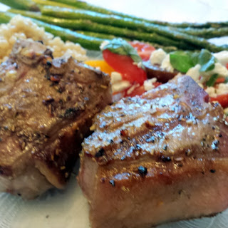Grilled Lamb Chop Accompaniment Recipes.