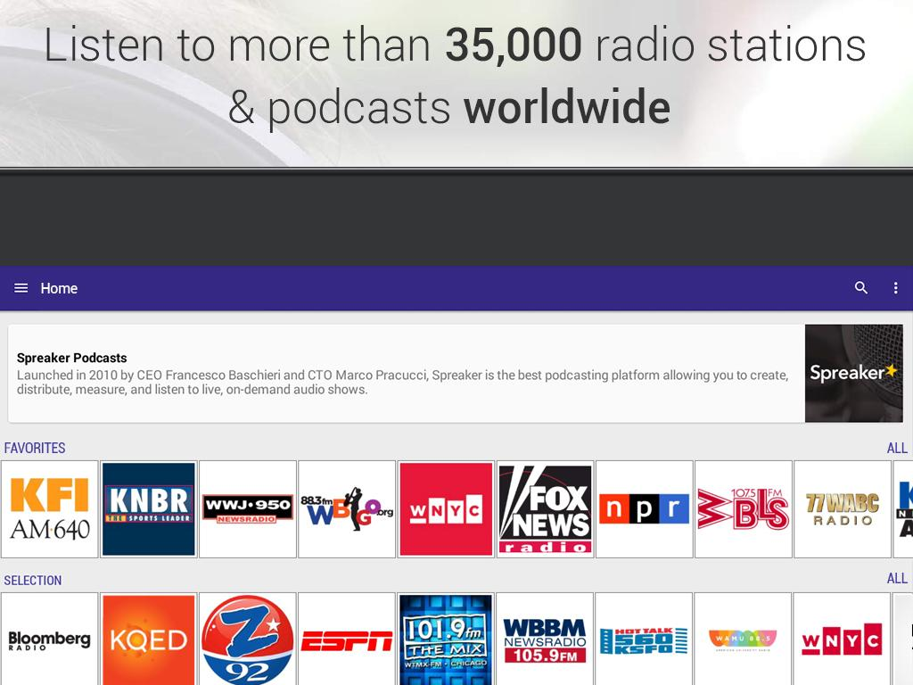 Radioline: Radio and Podcast- screenshot