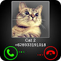 Fake Call Cat Broma icon