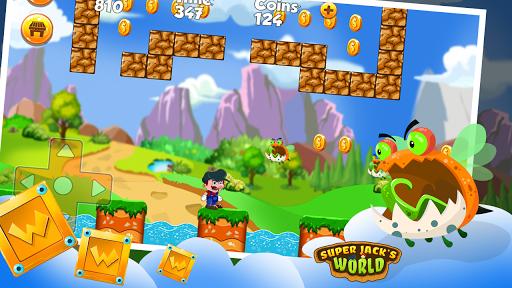 Super Jack's World - Super Jungle World screenshot 4