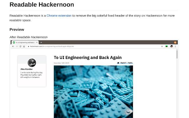 Readable Hackernoon