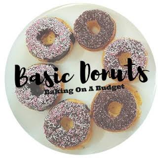 Baking Budget Doughnuts.
