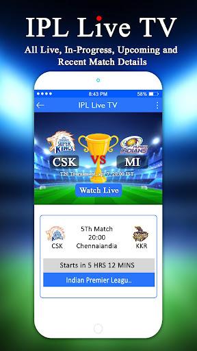 Cricket Live IPL TV 20 : Live Score & Schedule App-Download