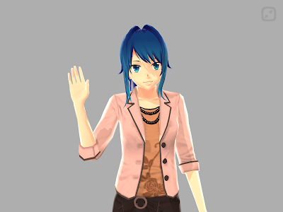 Anime Girl Pose 3D screenshot 10