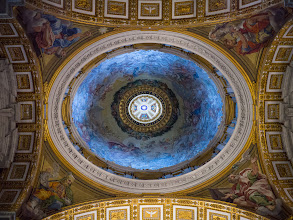Photo: Side aisle dome in St. Peters