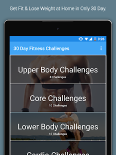 30 Day Fitness Challenges Screenshot 6