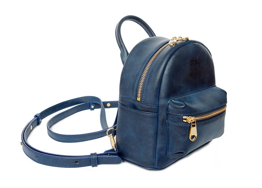 กระเป๋าเป้ใบเล็ก ผู้หญิง หนังแท้