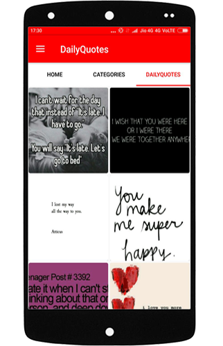 Latest Love Quotes SMS- screenshot