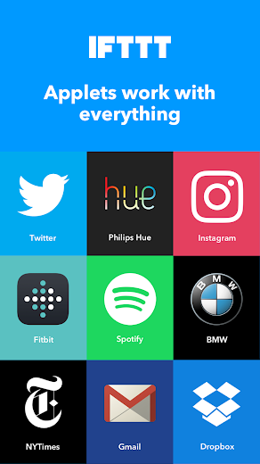 Screenshot 3 for IFTTT's Android app'