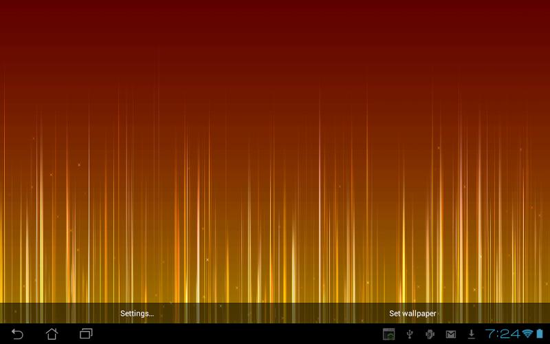 Скриншот Fading Lines Live Wallpaper