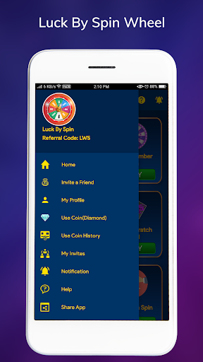 Luck By Spin - Lucky Spin Wheel  screenshots 2