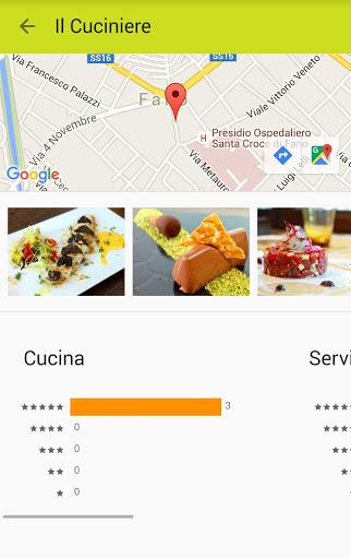 ricerca ristorante