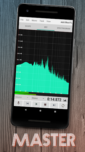 WaveEditor for Androidu2122 Audio Recorder & Editor 1.85 screenshots 2