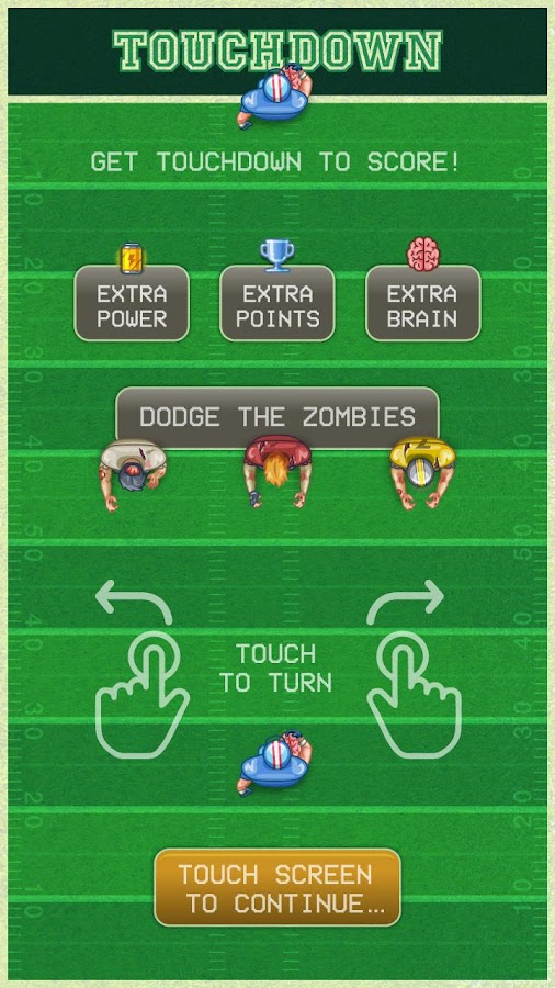 FootBrain-Football and Zombies- screenshot