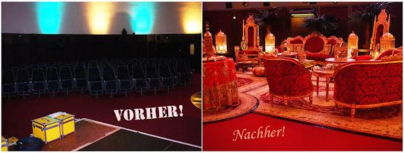 Photo: http://www.pandoramichelelorenz.com/  Vorher & Nachher (Before & After) - Dekorative Raumgestaltung!  Majestically Marvelous! Einzigartige Luxus & Antik Event Themenwelten, Dekorationskonzepte, Palast Möbel, Maharaja Zelte, ...! Verleih, Vermietung, Mieten!  Exklusive orientalische-, indische-, asiatische-, ... antike Luxus Dekorationselemente, kostbare Palast Möbel & edle Wüstenzelte, Wasserpfeifen, Shishas, ...! Mieten oder Kaufen für Ihre Events & Veranstaltungen, private Wohnambiente, Immobilien, ...!  Pandora Michèle Lorenz . Interior Design & Decorations . Art . Lifestyle!  Eleganz und purer Luxus auf höchstem Niveau und für besonders hohe Ansprüche! Exklusive, erlesene Kostbarkeiten! Prachtvolle Einzelstücke, Unikate und Raritäten! Eine wahrlich königliche Entdeckungsreise und ein einzigartiges Entspannungs- & Verwöhnerlebnis für die Sinne! Tief verborgener, faszinierender Zauber der geheimnisvollen Kulturen, Traditionen und der warmherzigen Gastfreundschaft, des fernen Orients, Indiens, Asiens, ...! Kunsthandfertigkeiten wie aus den Zeiten der Sultane, Maharadjas, Shah`s und Kaiser, des mystisch, verträumt und verspielten Orients, Indiens und Asiens, in ihrer ganzen königlichen Pracht und lebensbejahendem Farbenvielfalt, inspiriert durch die außergewöhnlich schöne und artenreiche Natur in diesen Ländern!  Feinste, unglaublich aufwendige Handarbeit bis ins kleinste Detail, mit unter anderem Perlmutt-, Spiegel-, Glas & Mosaikintarsien, Ornamenten mit diversen Verzierungen, ..., welches ihres gleichen sucht! Original antike Dekorationselemente, kostbare 24 Karat vergoldete Palast Möbel, edle Beduinen und Maharaja Deko-Wüstenzelte, orientalische 1001 Nacht Lounge Bereiche, riesige drehbare ägyptische Wasserpfeifen - Shishas mit einer Höhe von 110 cm und leckerem Geschmackstabak, traditionelle Teezeremonie mit antikem, handgemeisseltem echt 24 Karat Gold & Silber Teegeschirr, wunderschöne, seltene Samoware, köstliche Gebäckspezialitäten und frische süße, f