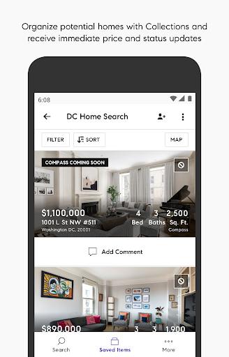 Compass Real Estate - Homes 1.14.0 Screenshots 2