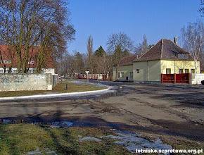 Photo: Brama wjazdowa w czasach niemieckich