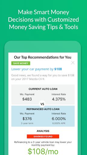 LendingTree screenshot