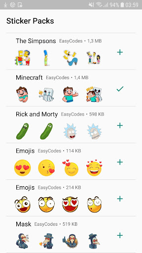 Stickers for Whatsapp Stickers - WAStickerApps 1.0.57 screenshots 3