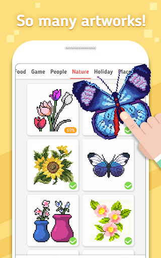 No.Paint: Color by Number 1.0.10 screenshots 2