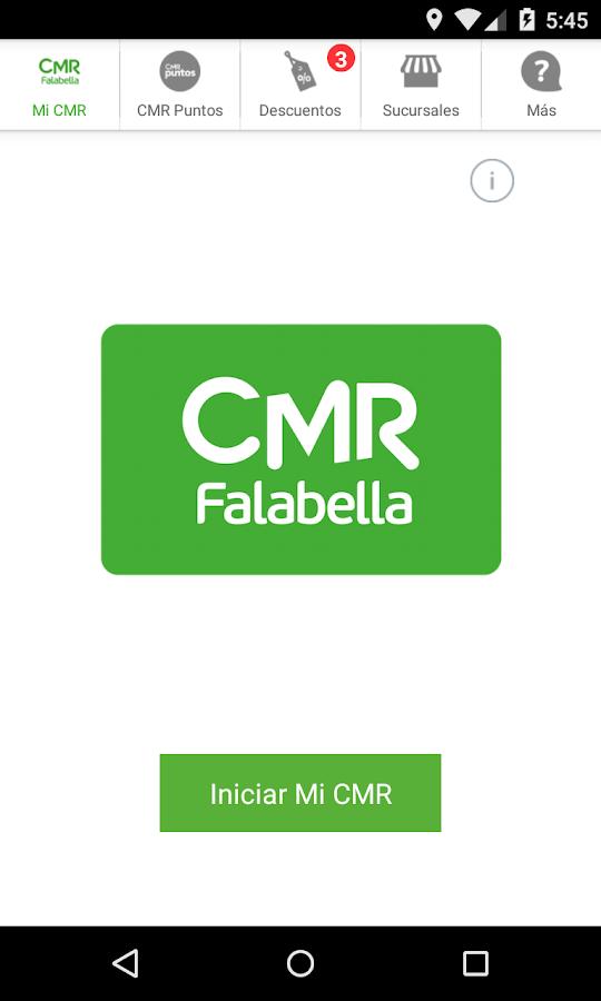 CMR Falabella - Chile- screenshot