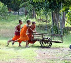 Photo: Year 2 Day 40 - Novice Monks Having Fun