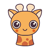 Cute Fawn Keyboard Sticker