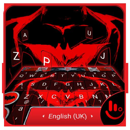Red Hero Keyboard Theme