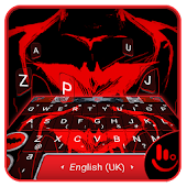 Red Hero Keyboard Theme