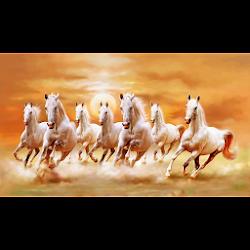 Seven Horses Wallpaper 7