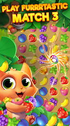 Tropicats: Free Match 3 on a Cats Tropical Island APK screenshot thumbnail 1
