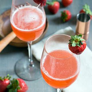 Strawberry Ginger Cocktail