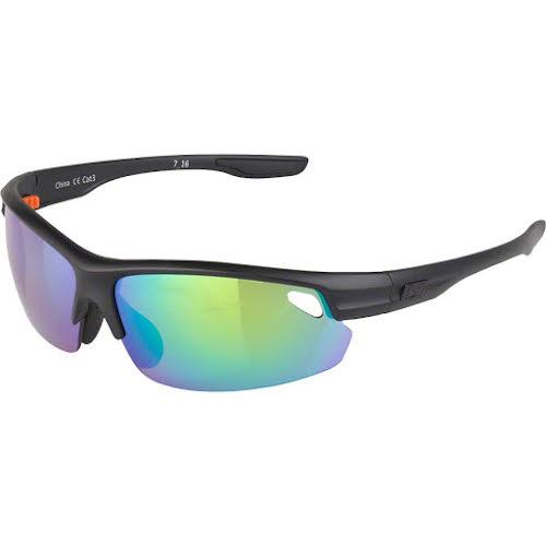 Optic Nerve Desoto Flip Off Sunglasses: Matte Black