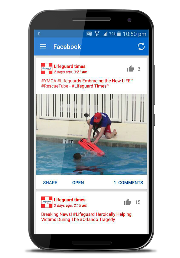 Lifeguard Times- screenshot