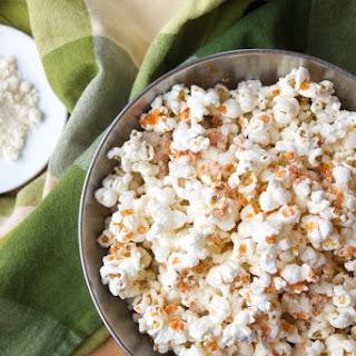 Buffalo-Parmesan popcorn